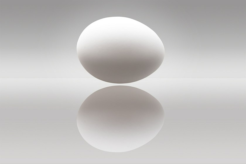 If you are unsure about the freshness of your eggs, put them in a bowl of cold water.  If the egg sinks to the bottom and lies on their sides, they are fresh. If they float or stand on one end, the eggs are past their prime