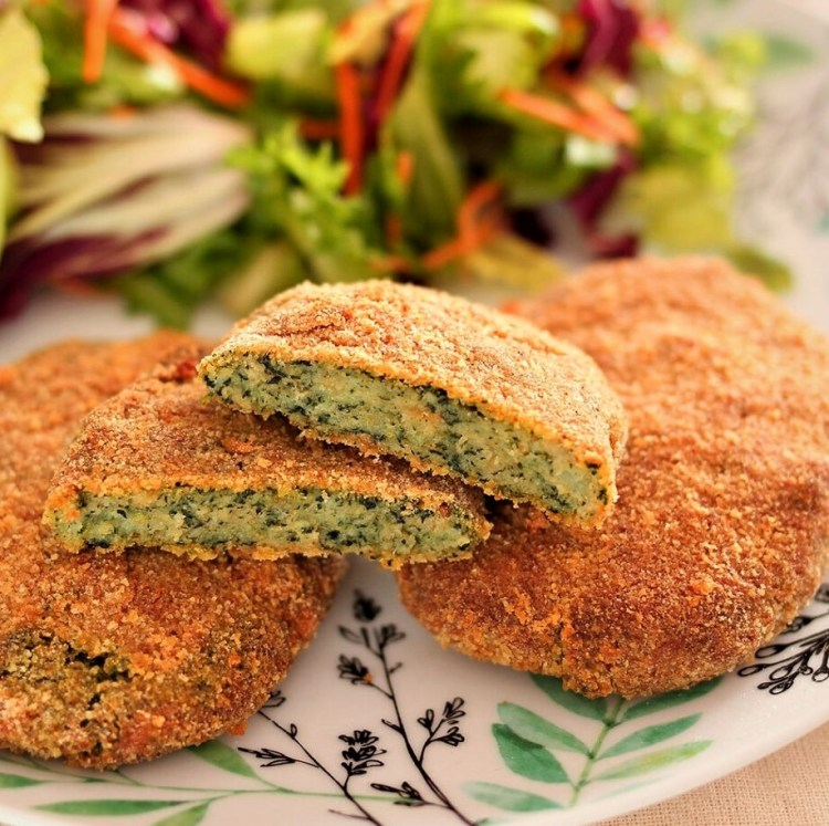 SPINACH CUTLETS