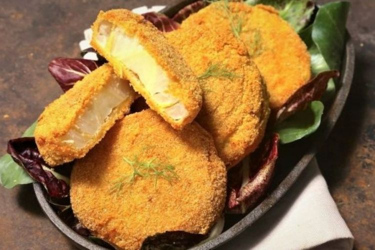 Baked fennel cutlets