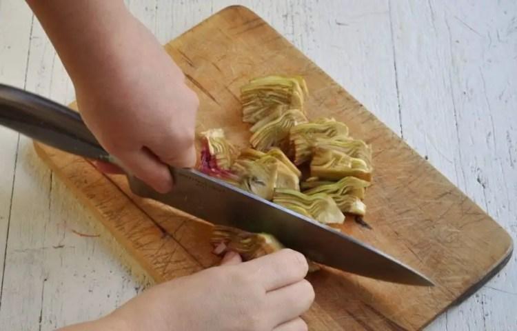 Artichoke carpaccio
