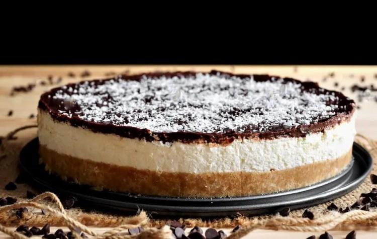 Cheesecake coconut