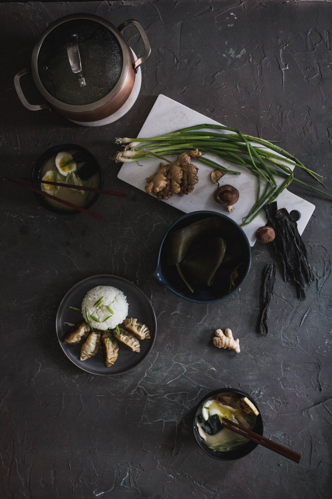 Morning Miso Soup Recipe from Boiled Wheat Blog by Kristen McSorley, Bozeman Montana Photography