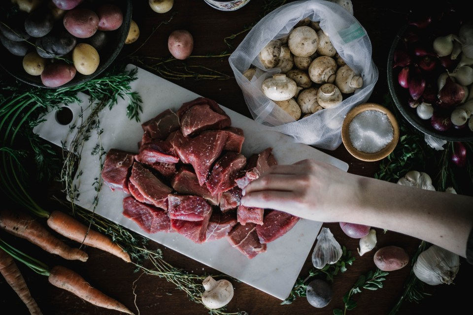 Beef Bourguignon from Boiled Wheat Blog by Kristen McSorley, Bozeman Montana Food Photographe
