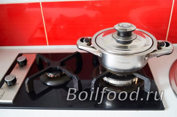 How to cook Bulgur in a saucepan