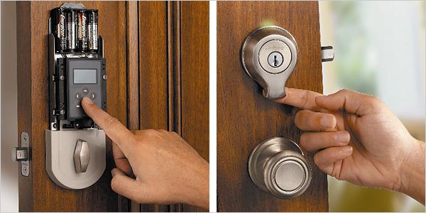 Biometric door locks are cool plus Schneier likes em Boing Boing