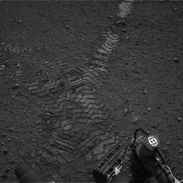 Mars Curiosity rover: HD video of landing, and an image of ...