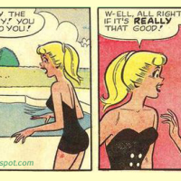Unintentionally Funny Comic Panels #4 - Veronica and Betty