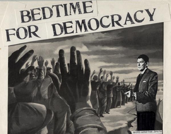Bedtime Democracy Reag 50