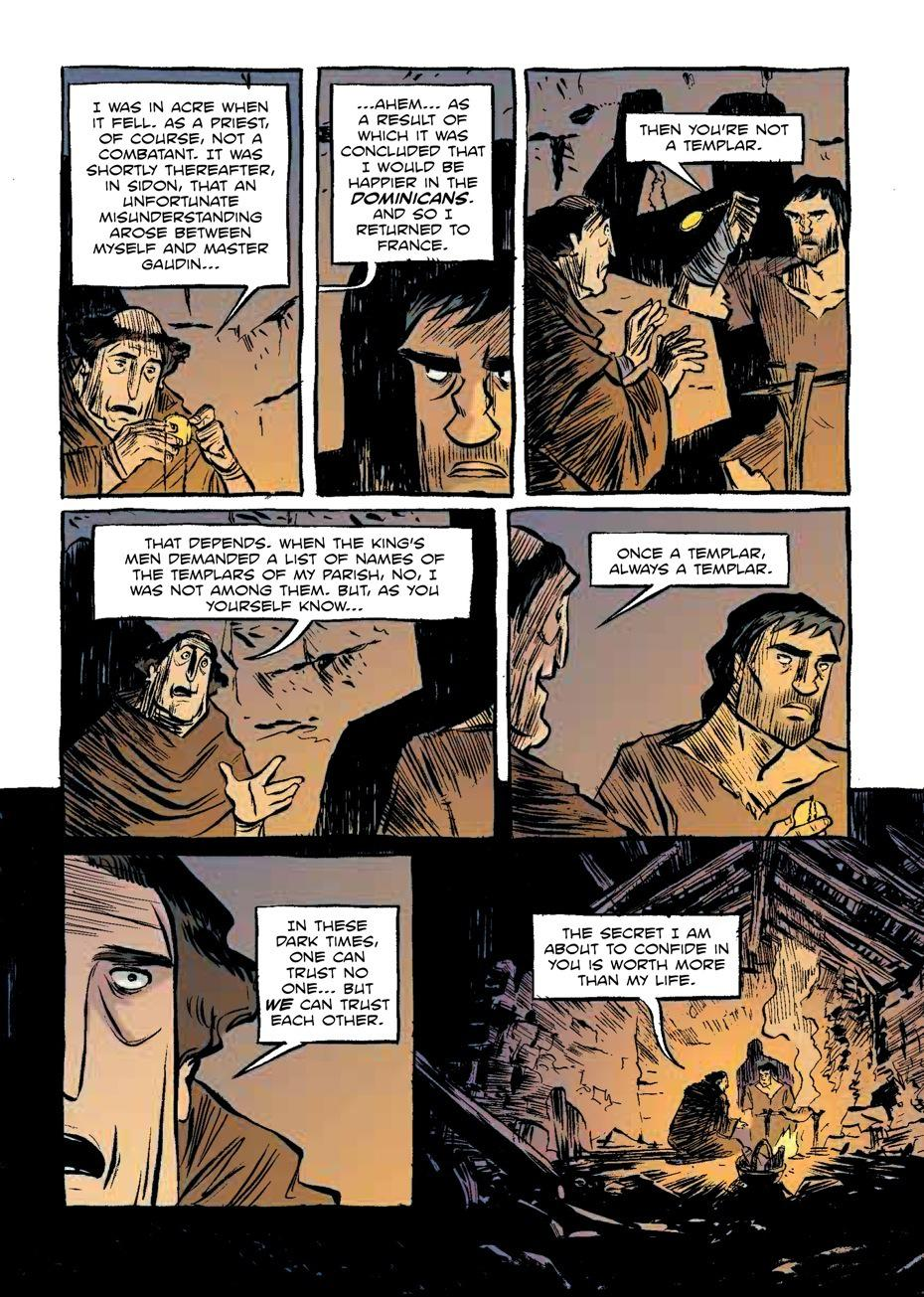 Templar New 480 Page Graphic Novel About The Knights