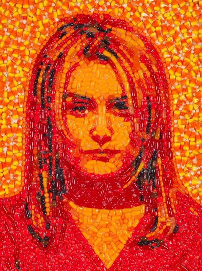 Candylebrity The Sweet Mosaic Art Of Jason Mecier Boing
