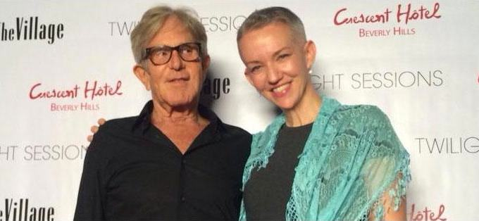 Village Studios CEO Jeff Greenberg, with Boing Boing co-editor Xeni Jardin. Thanks for the shoop, Waxy!