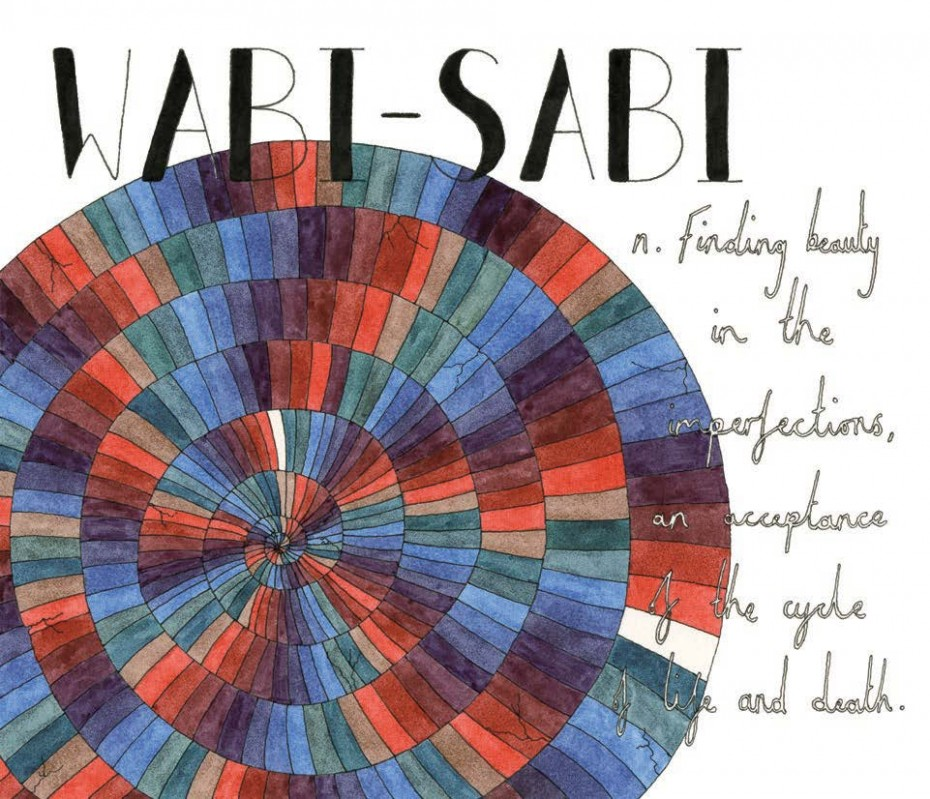 Wabi-sabi - Japanese, noun