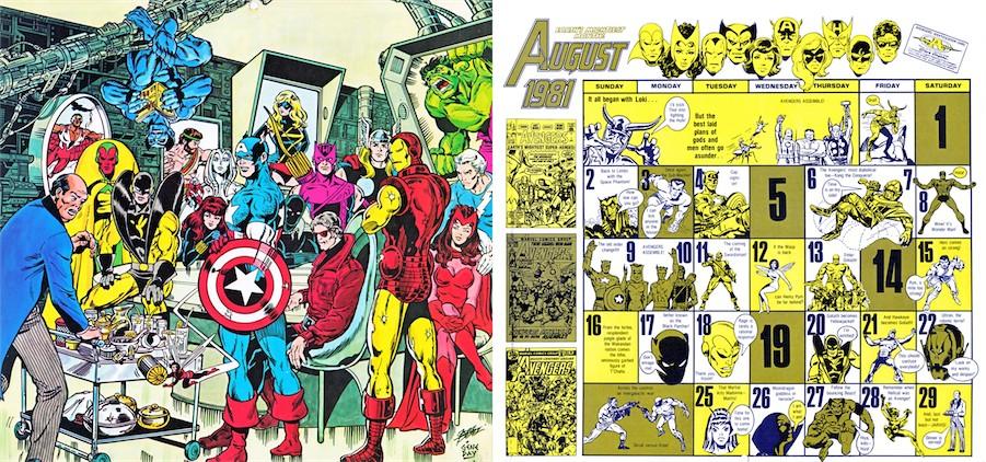 Marvel-Calendar-1981-Aug