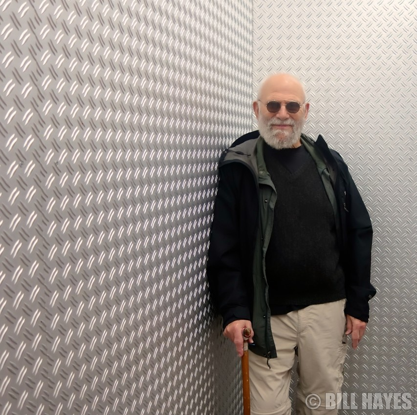Oliver Sacks. Photo: Bill Hayes