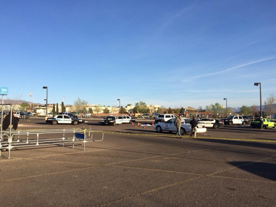 The ill-fated Cottonwood Wal-Mart Parking lot