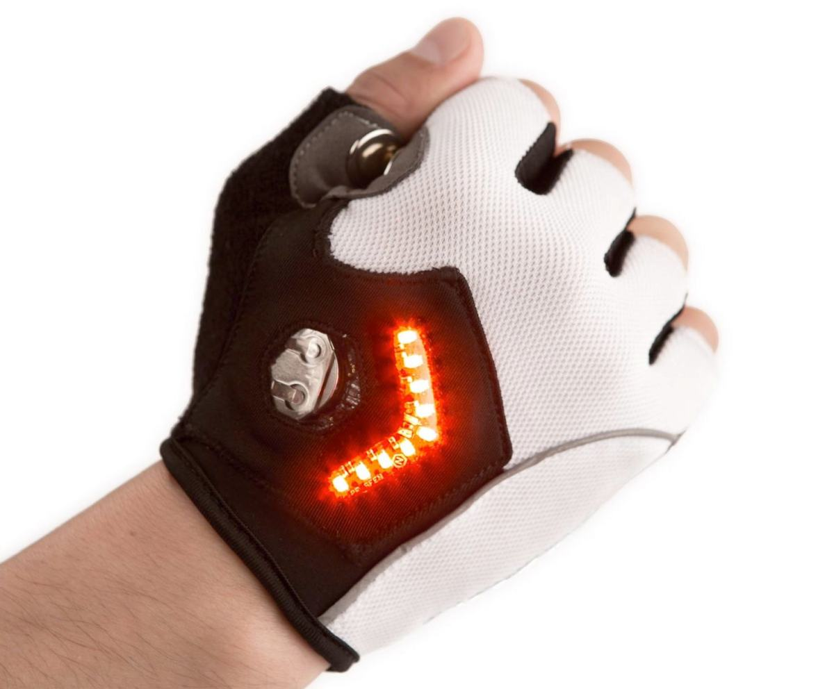 Led Turn Signal Cycling Gloves Boing Boing