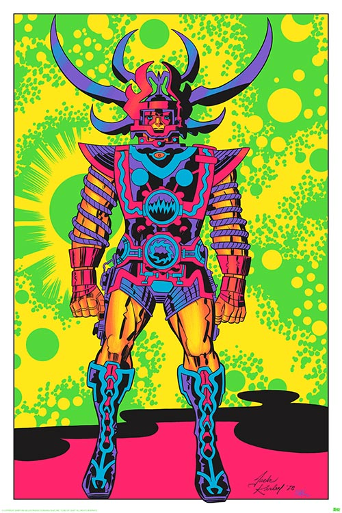 Jack Kirby S Glorious Psychedelic Lord Of Light Black