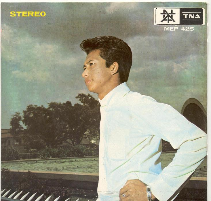 Adnan Othman, on the cover of one of his original releases.