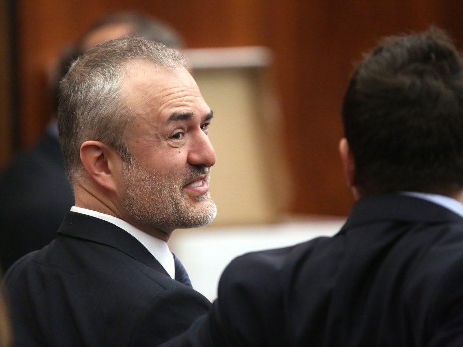 Nick Denton, in court [Reuters]
