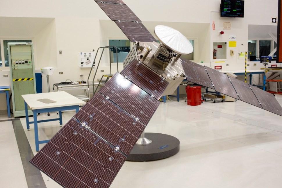 ¼ scale model of Juno. Photo: Katherine Leipper.