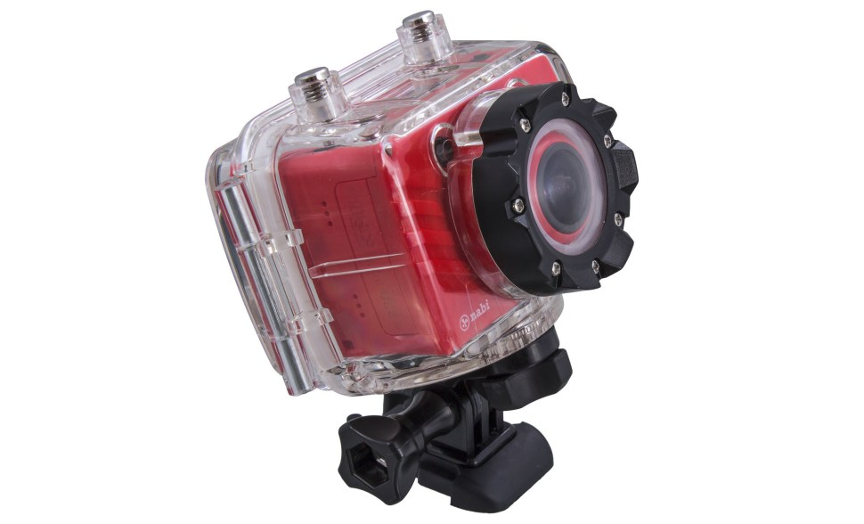 NABI Action cam front mount