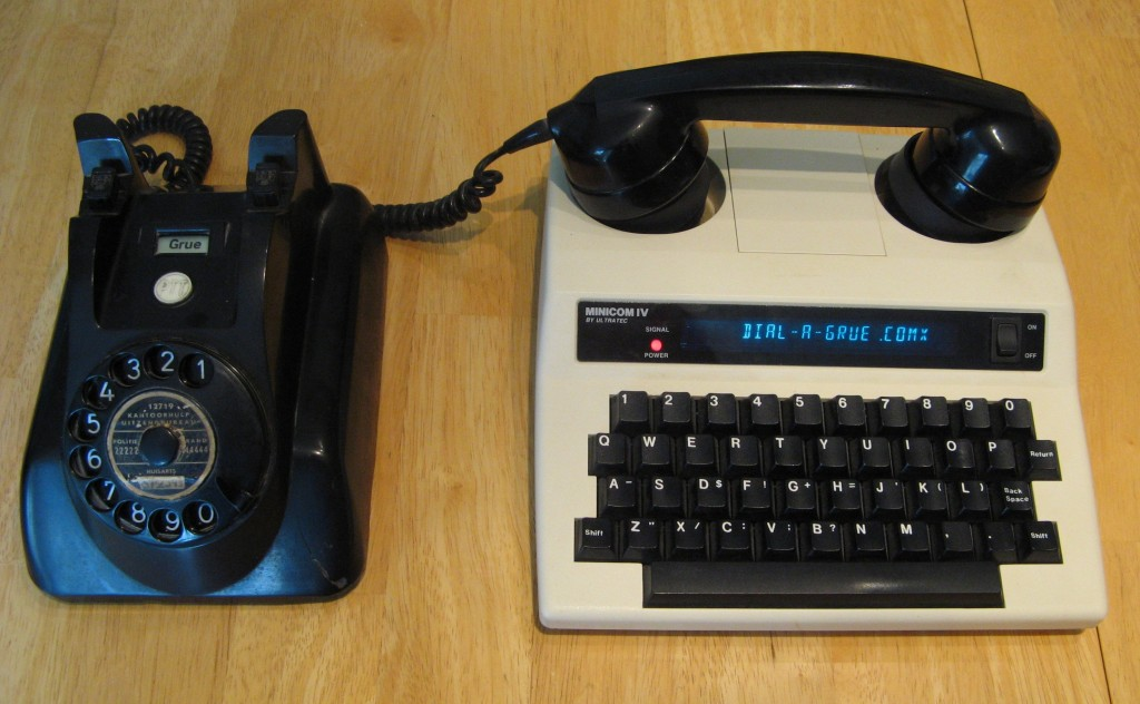 Dial-a-Grue: play Zork with nothing but an old phone / Boing