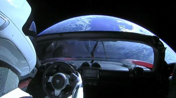 #StarMan: Watch live views of Elon Musk's SpaceX 'pilot ...