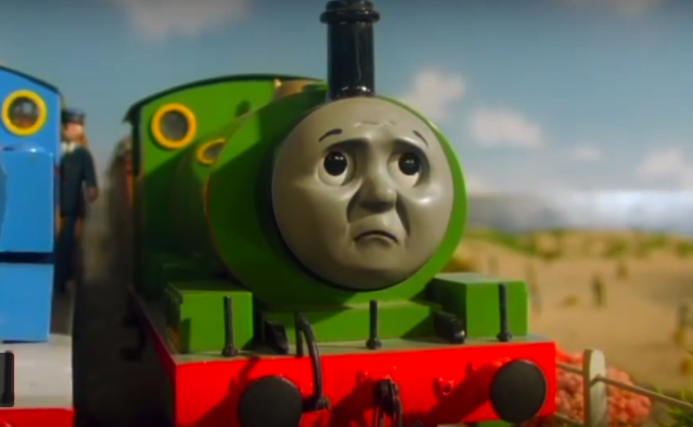 George Carlin's narration for Thomas the Tank Engine spiced