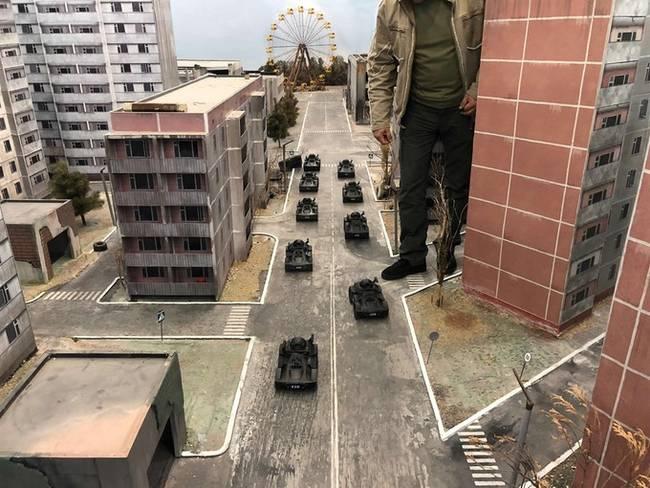 Kickstarting a game where you pilot mini tank-drones around a scale model of Pripyat