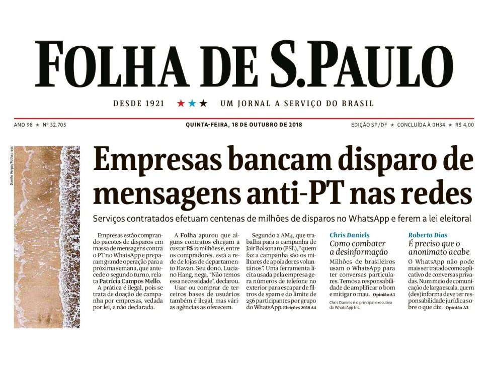 Brazil Elections: Facebook's WhatsApp taking immediate legal action against political spammers