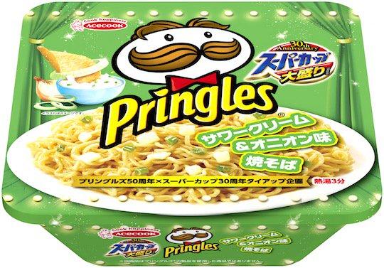 Japan has made instant ramen that tastes like Pringles