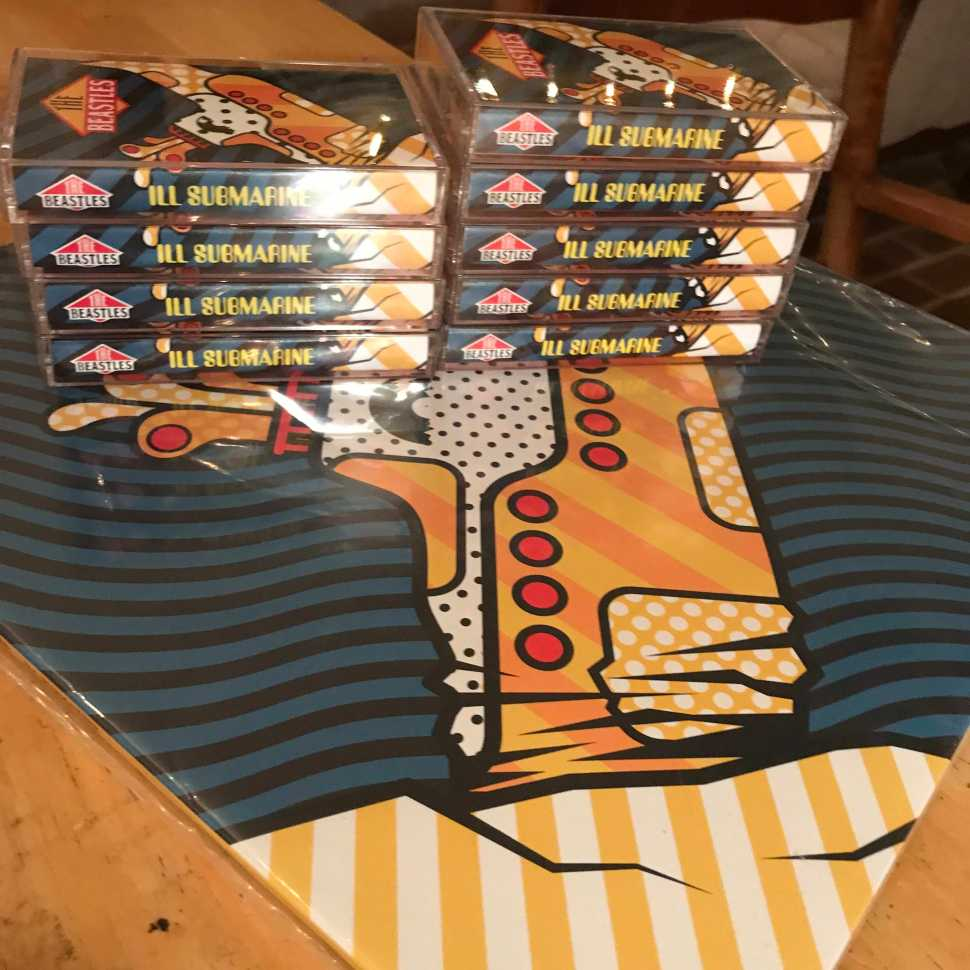 Cassette Store Day is coming, when you ll be able to pick up the Beastles  Ill Submarine !