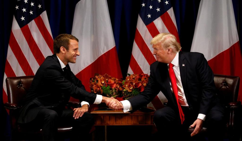 No US-France digital tax war for now, as Trump and Macron call a truce