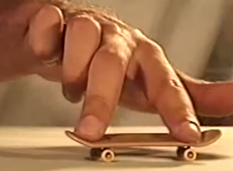 Fantastic Fingerboard Trick Video From 1999 Boing Boing