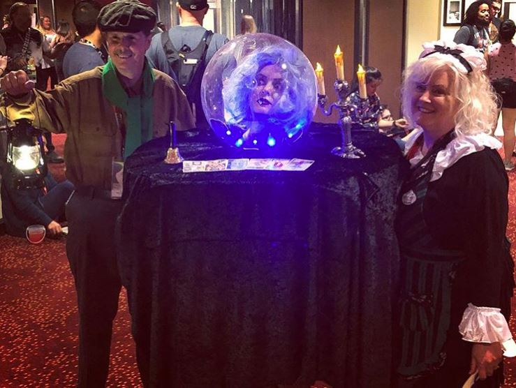 Madame Leota says this cosplay will haunt you