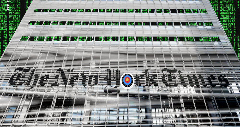 "New York Times abruptly eliminates its ""director of information security"" position: ""there..."