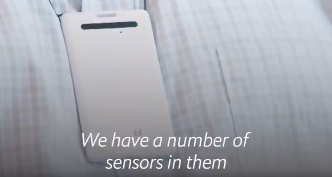 Electronic badge monitors workers' conversations, toilet usage and posture | Boing Boing