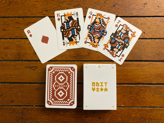 New edition of 8bit Card Deck red-y to go | Boing Boing