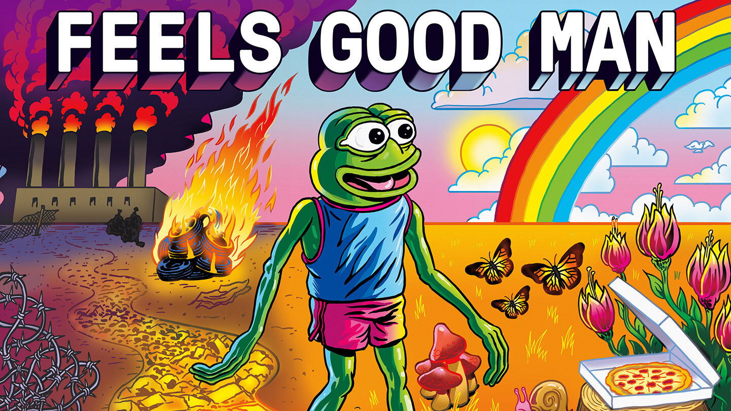 pepe the frog movie poster