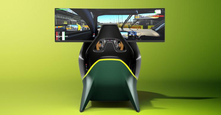 Aston Martin's £57,500 sit-in driving simulator | Boing Boing