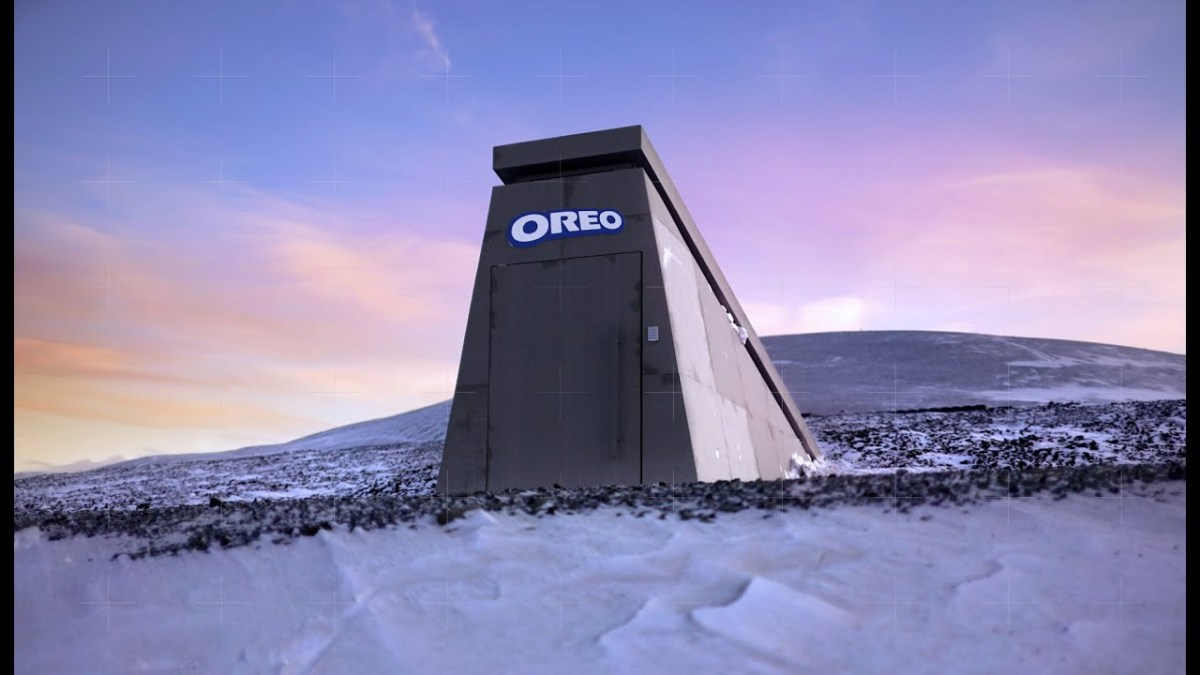 OREO built an asteroid-proof Oreo bunker in the Arctic | Boing Boing