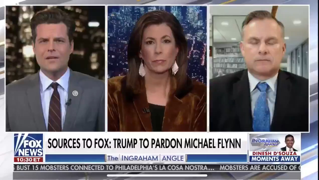 Matt Gaetz: Trump should pardon Michael Flynn, and himself