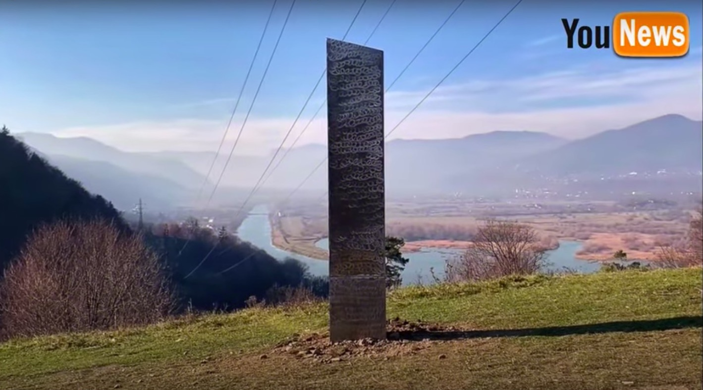 Another mysterious monolith pops up in Romania