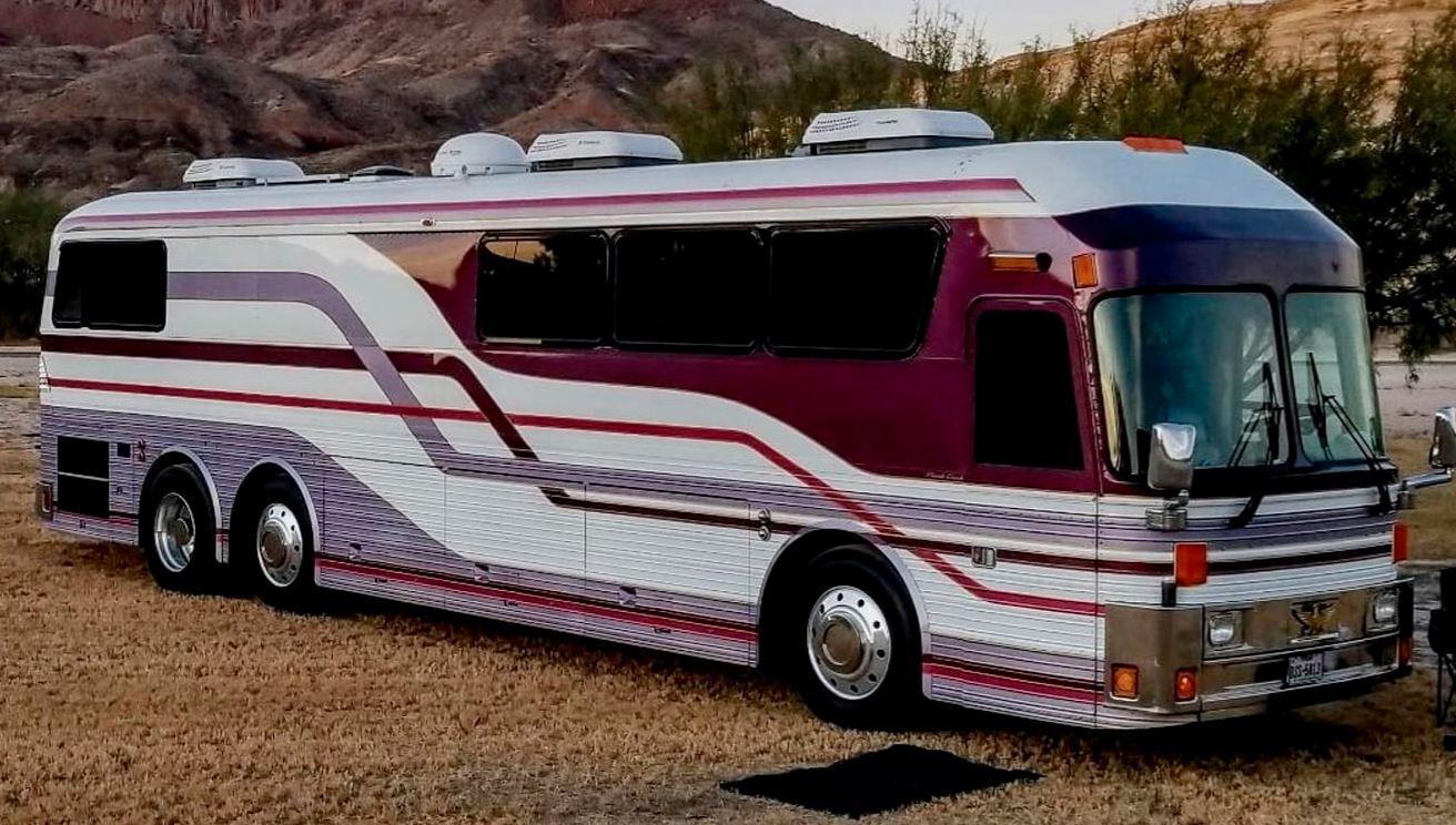 Prince's 1984 tour bus