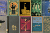 Compilation of early book covers by the Public Domain Review