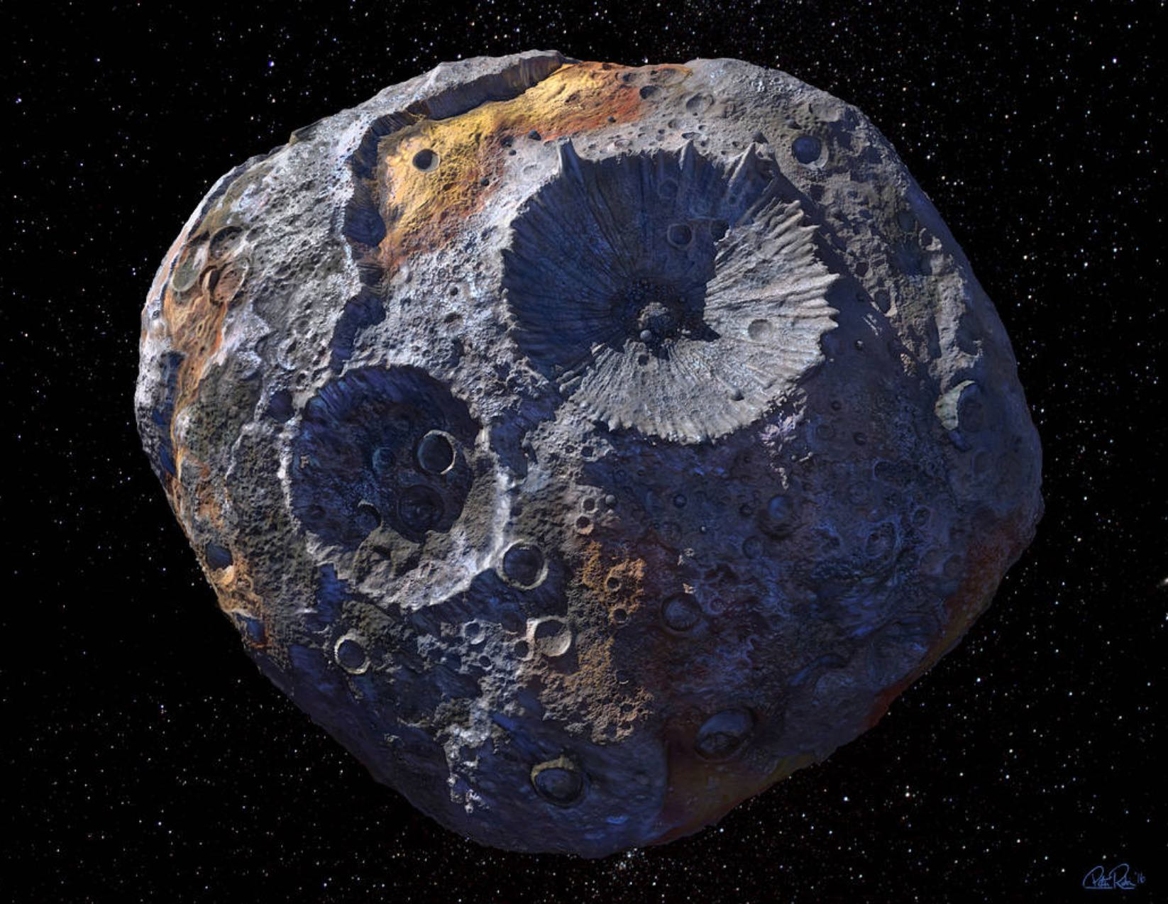 Unusual asteroid could be worth $10,000 quadrillion