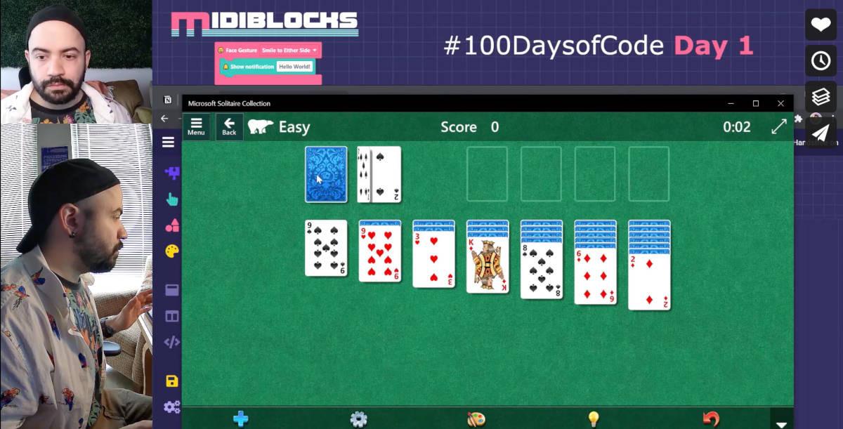Screenshot of MIDIBlocks