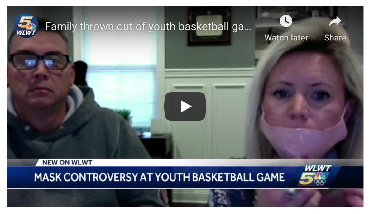 Basketball mom refused to cover nose with mask at game, so her kid and coach dad got kicked out of the league | Boing Boing