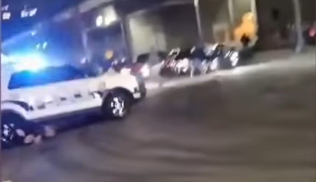 Tacoma terror cop plows through crowd in police SUV | Boing Boing