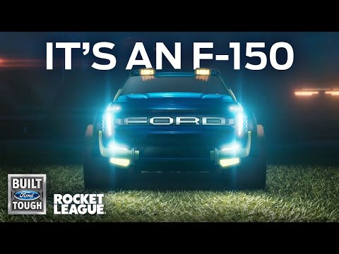 Rocket League introduces a Ford F-150 - Boing Boing